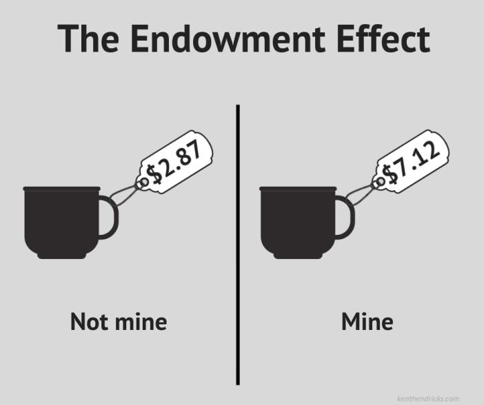 Der Endowment Effekt – Warum das eigene Auto stets das Wertvollste ist
